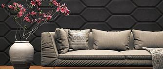 Imitacja betonu - panele 3d ZICARO
