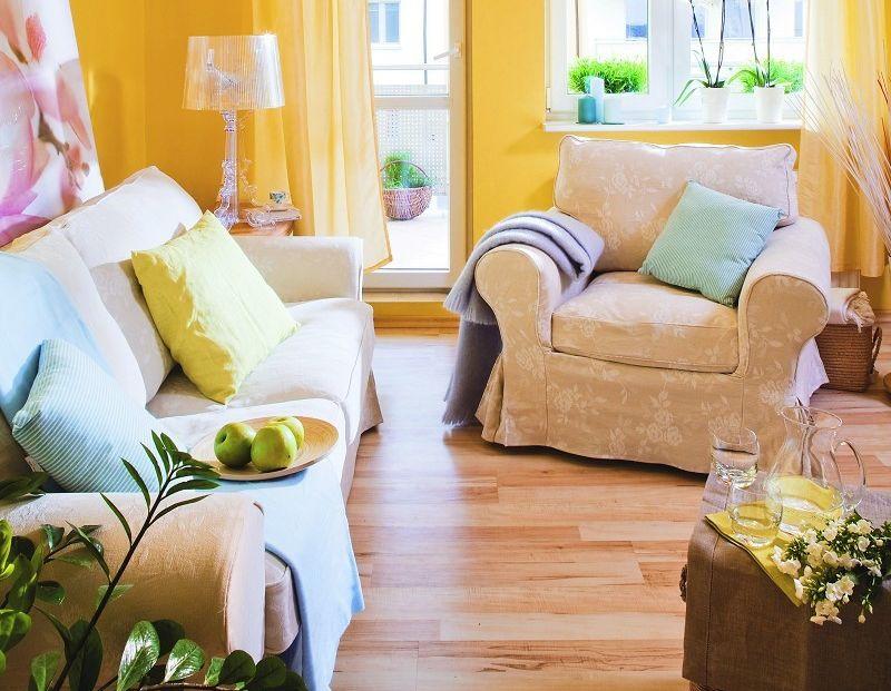 Podpowiadamy, do jakich wnętrz pasują żółte kolory ściany