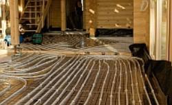 Instalacja c.o. w podłodze i ścianach - sposoby układania