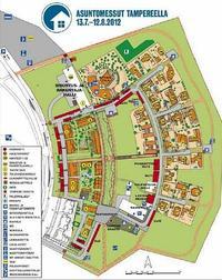Plan targów w Tampere