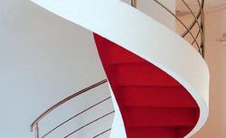 Schody prefabrykowane. Budowa schodów żelbetowych z gotowych elementów - galeria