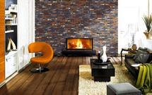 Imitacja cegły na ścianie, czyli cegiełki na ścianę w aranżacji wnętrza