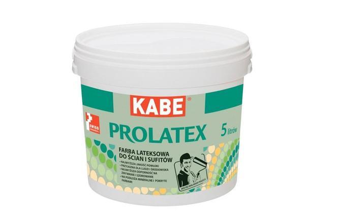 Kabe Prolatex. Lateksowa farba ekologiczna do ścian i sufitów