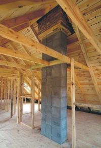 Budowa komina systemowego