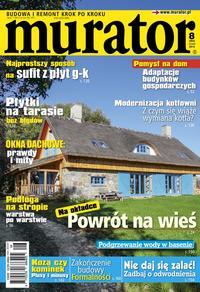 Okładka miesięcznika Murator 8/2014