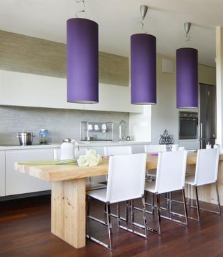Podłoga egzotyczna w kuchni
