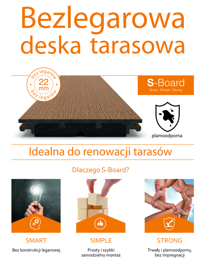 System tarasowy S-Board