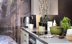 Aranżacja kuchni z fotografią. Wyjątkowa fototapeta na ścianę w kuchni