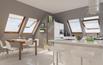 Aluminiowo-tworzywowe okna dachowe