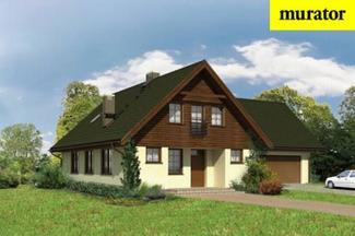 Projekt domu Murator M04b Wspaniały