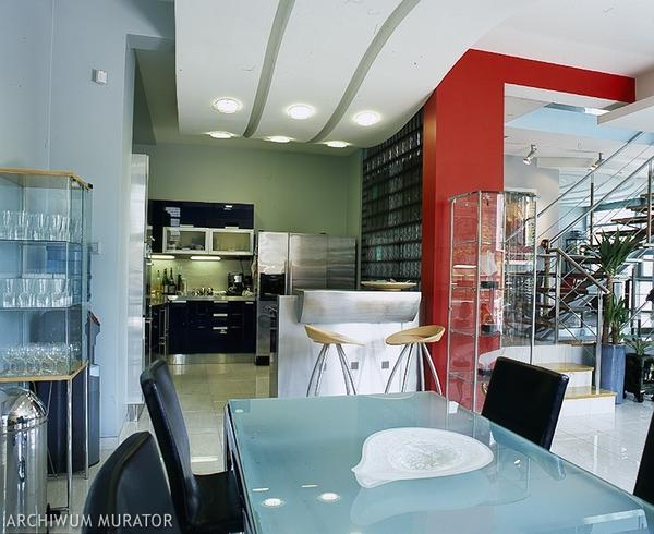 Galerie zdjęć  Biało czarna kuchnia  zdjęcia, aranżacje   -> Kuchnia Bialo Czarna Zdjecia